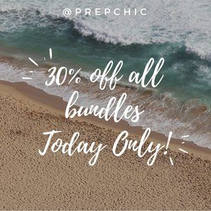 Happy Summer! 30% off all bundles today only!